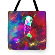 The Rocking Clown Tote Bag