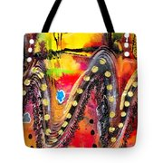 The Roller Coaster Tote Bag