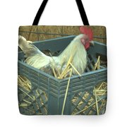 The Rooster That Laid A Golden Egg Tote Bag