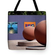 The Rounds Of Pershing Square Tote Bag