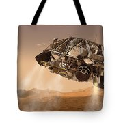 The Rover And Descent Stage For Nasas Tote Bag