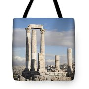 The Ruins Of The Ancient Citadel, Or Tote Bag