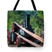 The Rumley Powering The Saw Tote Bag