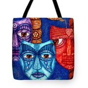 The Sadness The Mistrust And The Fatigue Tote Bag
