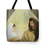 The Savior Is Born Tote Bag