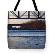 The Schuylkill River At Bridgeport Tote Bag