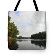 The Schuylkill River At West Conshohocken Tote Bag