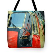 The Sea King Helicopter Used Tote Bag