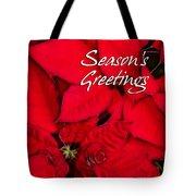 The Season's Velvet Touch Tote Bag