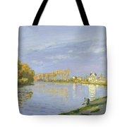 The Seine At Bougival Tote Bag