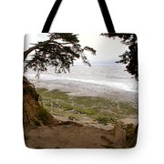 The Sentinels View Of The Ocean Tote Bag