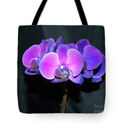 The Shade Of Orchids Tote Bag