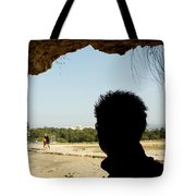 The Shadow And The Light Tote Bag