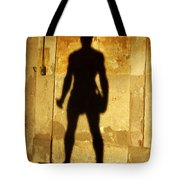 The Shadow Of The Statue Tote Bag