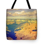 The Shadows In The Canyon Tote Bag