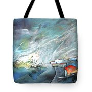 The Shores Of Galilee Tote Bag