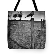 The Silent Warn  Tote Bag