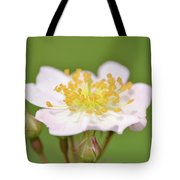 The Simplest Rose Tote Bag