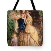 The Sinews Of Old England Tote Bag by George Elgar Hicks