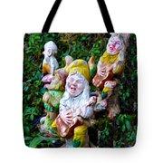 The Singing Gnomes Tote Bag