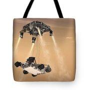The Sky Crane Maneuver Tote Bag