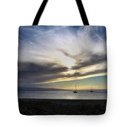 The Sky Is Exploding Tote Bag