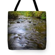 The Slow Flow Of Things  Tote Bag