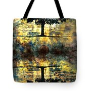 The Small Dreams Of Trees Tote Bag