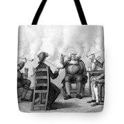The Smoking Club Tote Bag