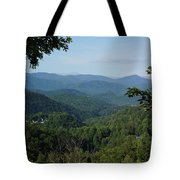 The Smoky Mountains Tote Bag
