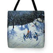 The Snowman  Tote Bag by Andrew Macara