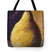 The Solitary Pear Tote Bag