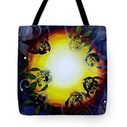The Source Of All Color Tote Bag