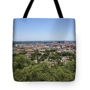 The Southern City Of Birmingham Alabama Tote Bag
