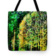 The Speckled Trees Tote Bag