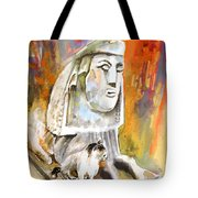 The Sphinx Of Petraion Tote Bag