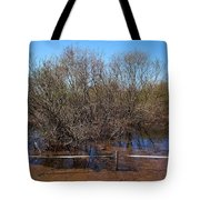 The Spring Flood Tote Bag