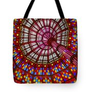 The Stained Glass Ceiling Tote Bag
