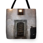 The Stairs To John The Baptist Tomb Tote Bag