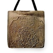 The Stamp Act Tote Bag
