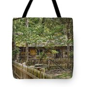 The Stewart Cabin 2 Tote Bag