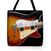 The Strat Les Guitar Tote Bag