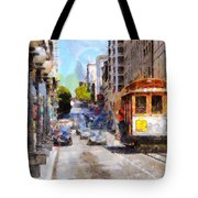 The Streets Of San Francisco . 7d7263 Tote Bag