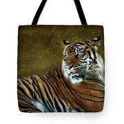 The Sumatran Tiger  Tote Bag