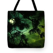 The Sun Through Clouds And Branches  Tote Bag