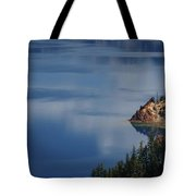 The Surface Of Crater Lake Tote Bag