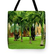 The Surfboard Fence Tote Bag