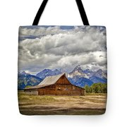 The T. A. Moulton Barn In Grand Teton National Park Tote Bag