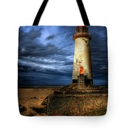 The Talacre Lighthouse Tote Bag