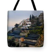 The Terraces Of Amalfi Tote Bag